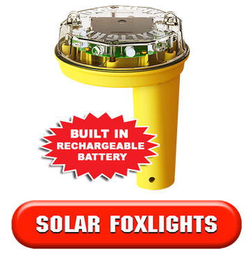 Solar Foxlight - Night Predator Deterrent